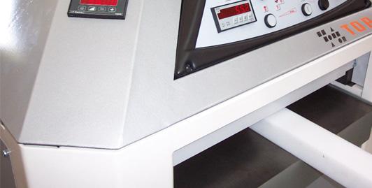 Possibilidade de usar a máquina mesmo para partes em plástico