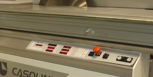 Unidade de pontuação eléctrica com botões (a pedido)