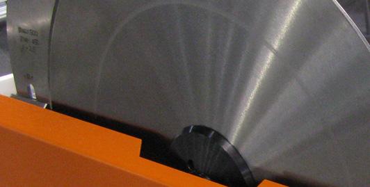 Diâmetro da lâmina de 300 até 500mm padrão no pedido da lâmina de 550mm de diâmetro