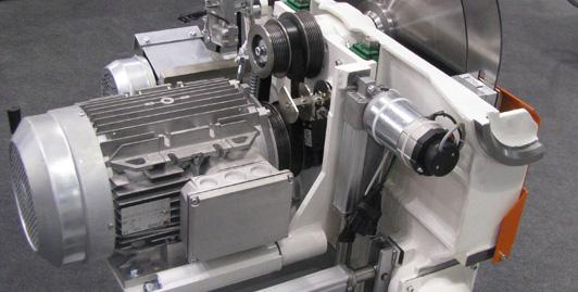 Grupo de serra para lâmina de 550mm. Motores até 12kw de potência